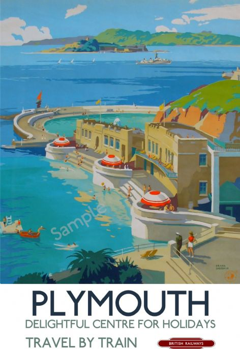 Plymouth Lido & Bay - Art Deco